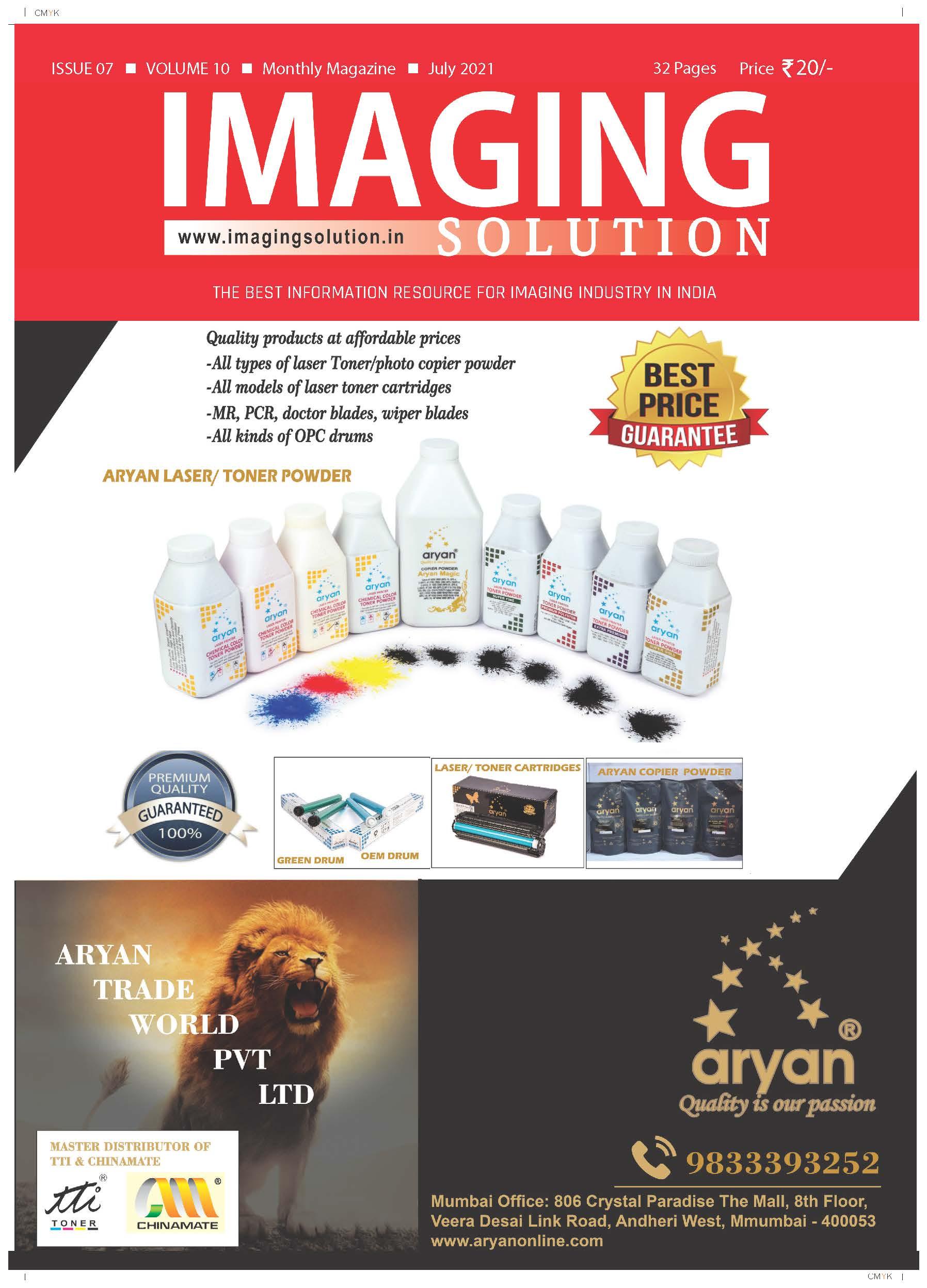 Imaging Solution July Magazine